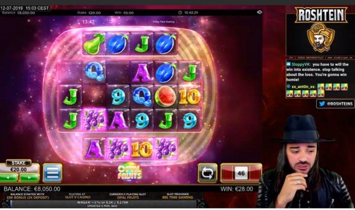Casino Streamer - Roshtein