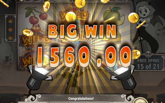Charlie Chance in Hell to Pay slot game review