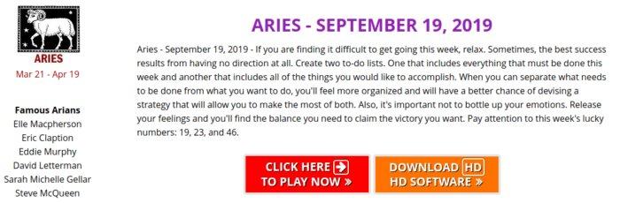How to check free Horoscope daily at Zodiac Casino
