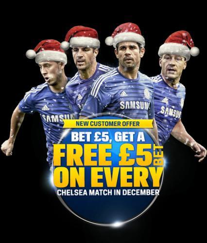 Chelsea Football Club - Bet £5 Get £40