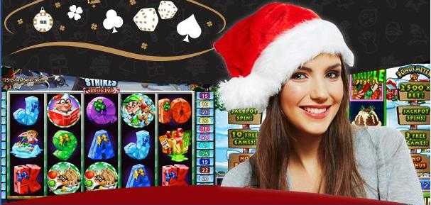 Christmas slot machines