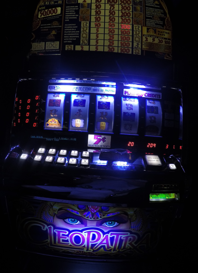 Cleopatra slot machine in Punta Cana casino
