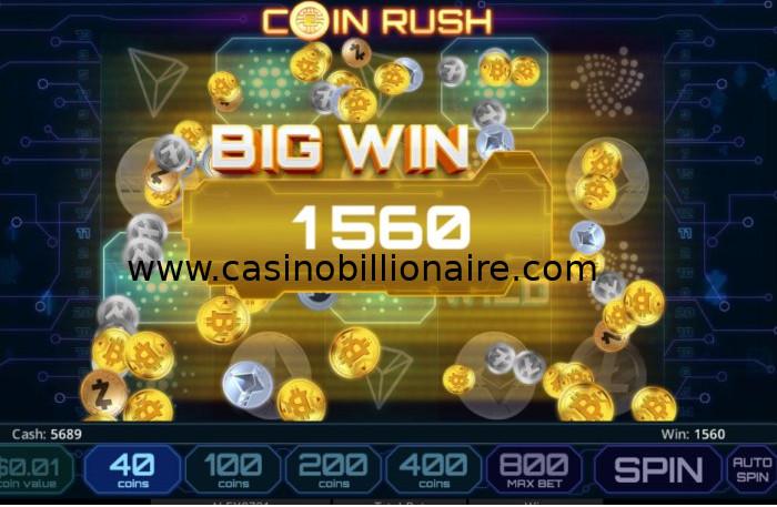 Coin Rush slot game - Slotland, Win A Day, Cryptoslots