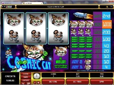 Cosmic Cat Slot