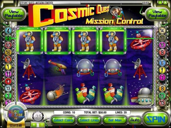 Cosmic Quest I & II - slot review