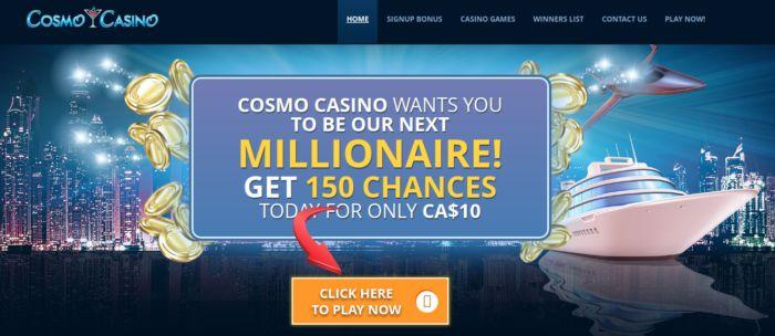 Cosmo Casino Canada NZ