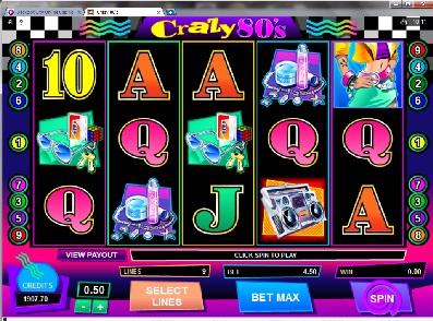 Crazy 80s Slot