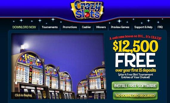 Crazy Slots Casino Review Casinobillionaire