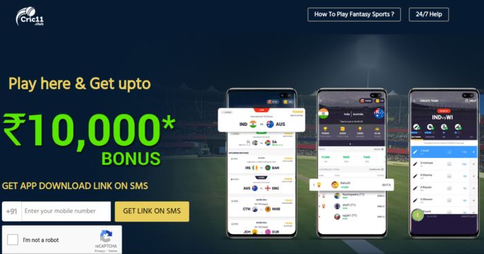 Cric11 Fantasy Cricket Betting App India