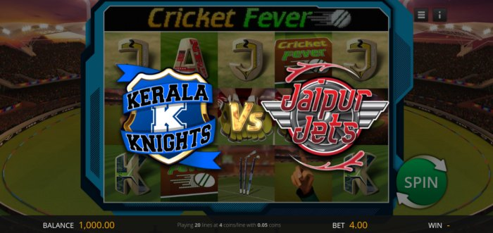 Cricket Fever slot slot game