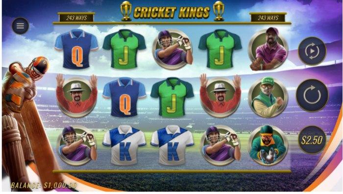 Cricket Kings slot game slot game