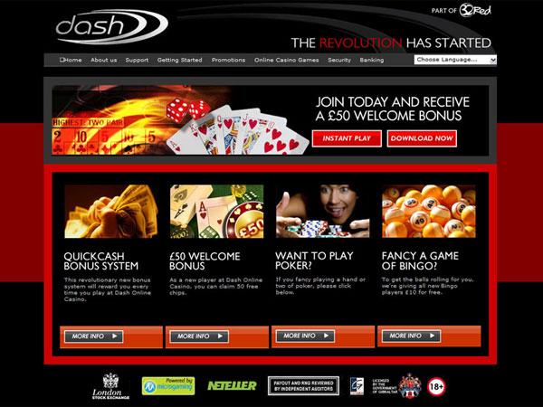 Dash UK Casino