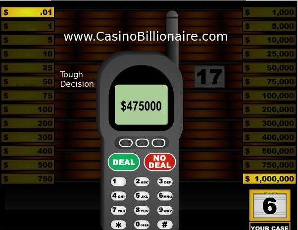 Deal or no Deal Australia online game