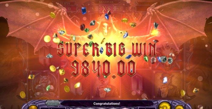 Demon band slot machine game