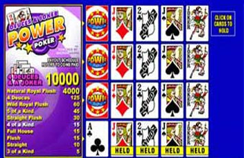 Deuces And Joker Power Poker Free Game