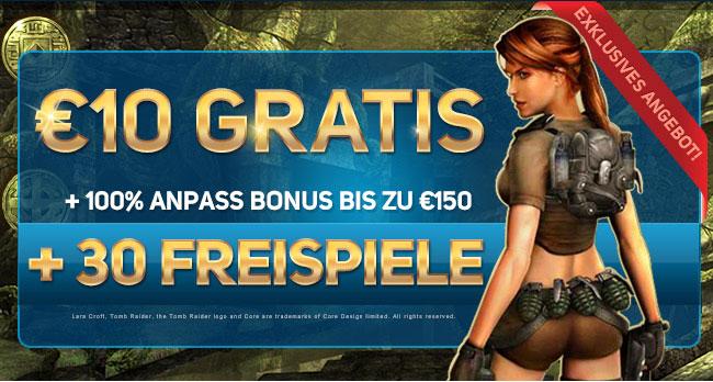 Deutsch Online Kasino - Exklusives Angebot - 30 Freispiele