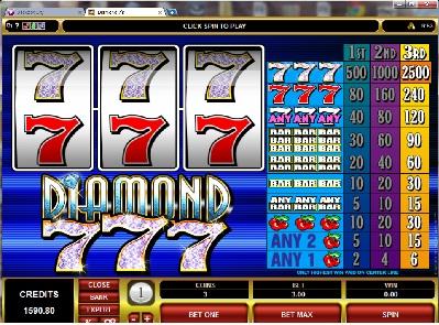 Diamond 777  Slot