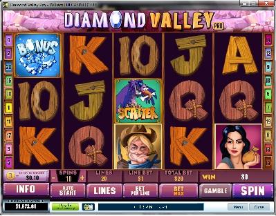 Diamond Valley Pro Slot