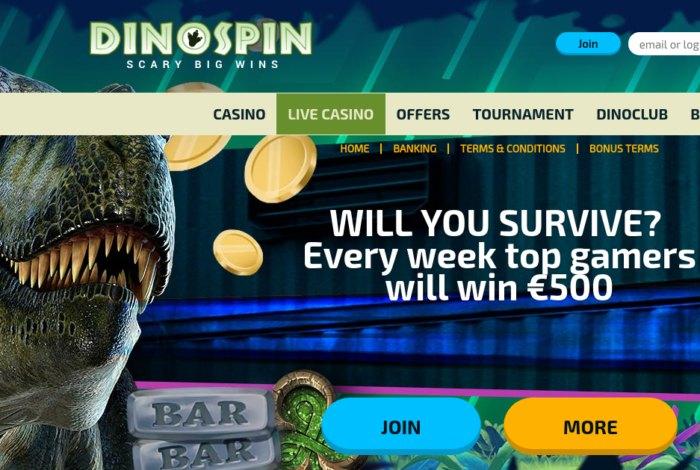 DinoSpin Casino