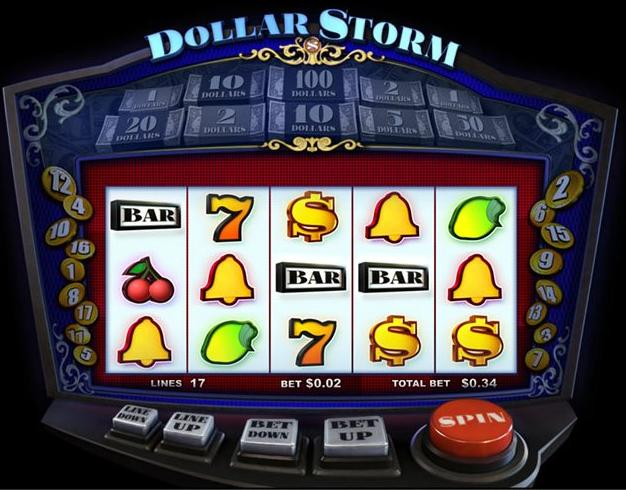 Dollar Storm slot machine - Slotland Casino
