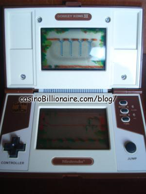 Donkey Kong 2 Nintendo Game & Watch
