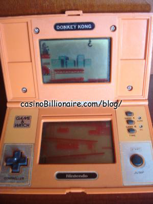 Donkey Kong Nintendo Game & Watch