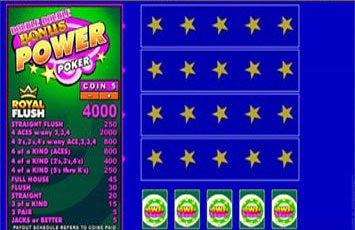 Double Double Bonus Power Poker Freeplay