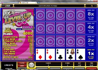 level up in double u casino