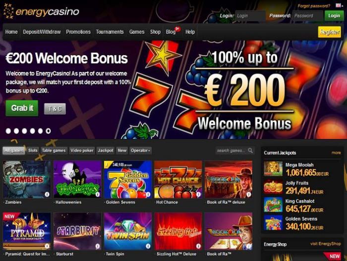 Play Energy Casino
