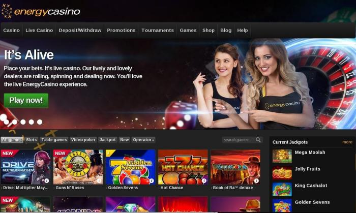 Play Energy Casino