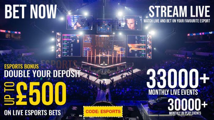 eSports Live Online - betting