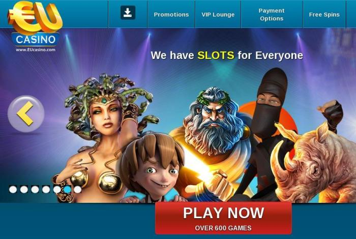 EU Casino free spins