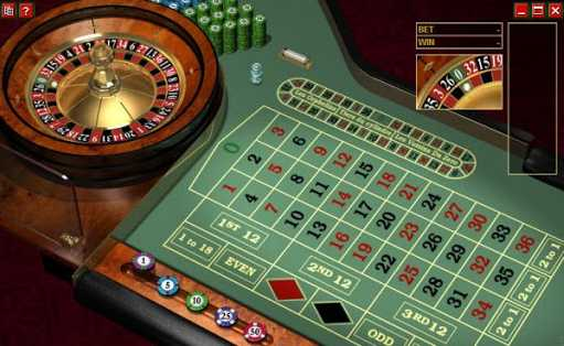 European Roulette playtech