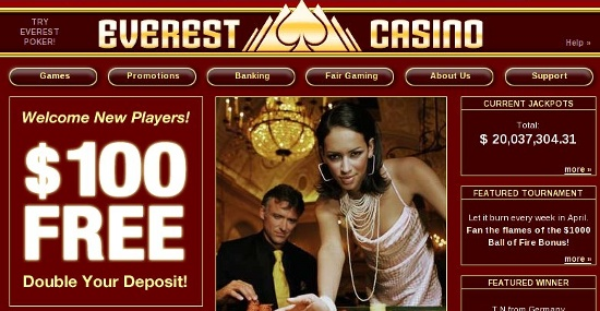 Casino em portugues - Everest Casino
