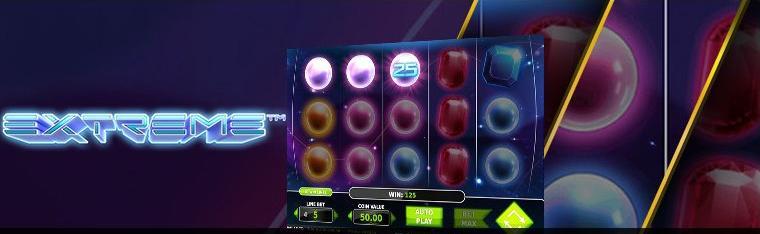 Extreme slot at Stargames