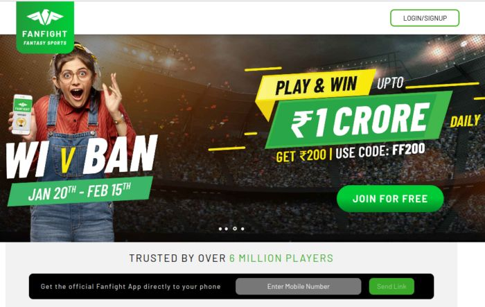 Fanfight Review Fantasy Cricket App India