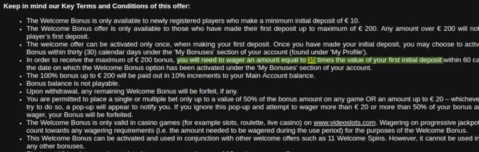 Online Casino Bonus Calculator