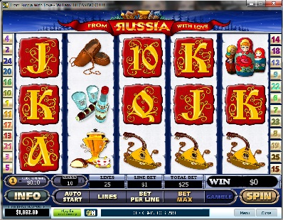 Russia With Love Slot