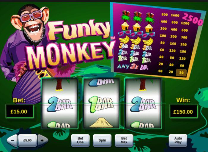 Funky Monkey Slot Game Playtech