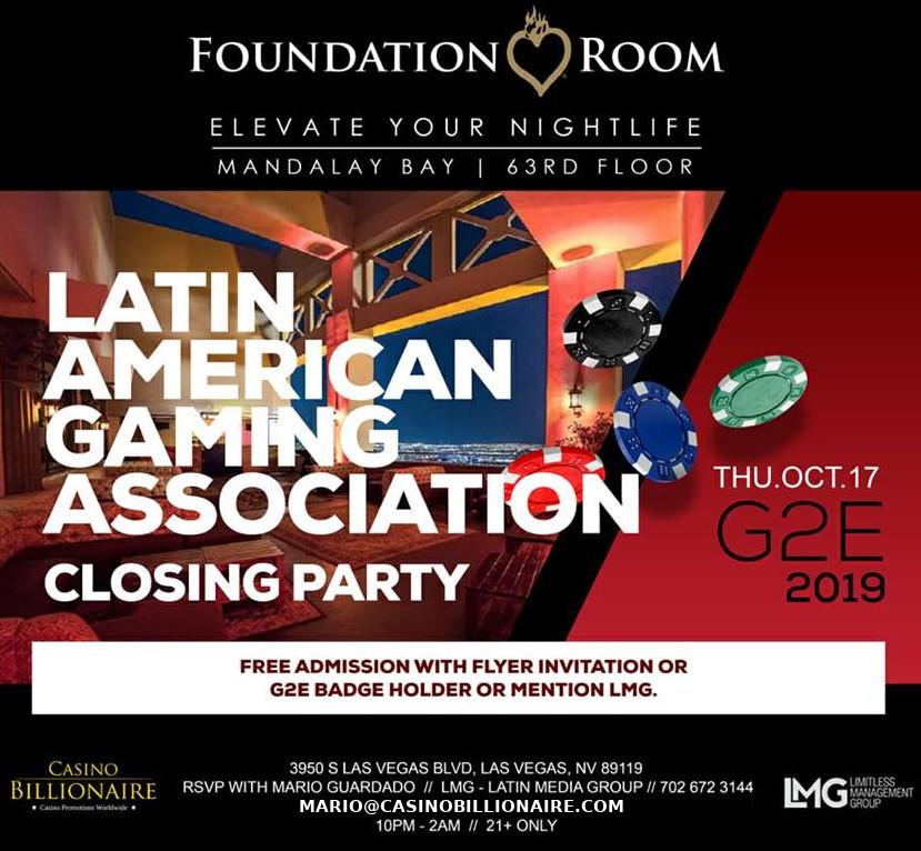 G2E 2019 Las Vegas - Global Gaming Expo