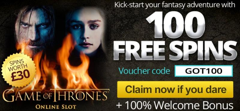 Game of Thrones - 100 free spins