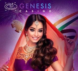 Genesis Casino India - Get INR 30,000 Welcome Bonus
