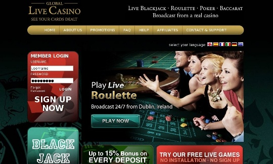Global Live Casino review