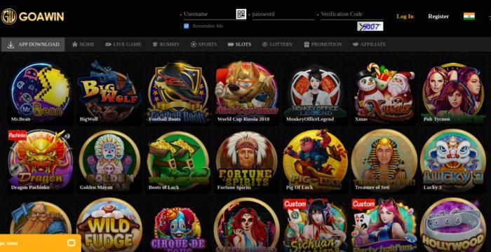 Goawin Casino Games Slots