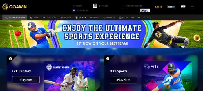 Goawin Sportsbook Cricket Betting
