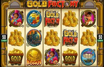 Gold Factory Slot Game Microgaming