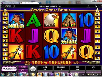 Golden Goose Totem Treasure Slot