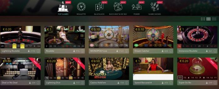 Grand Mondial Live Casino