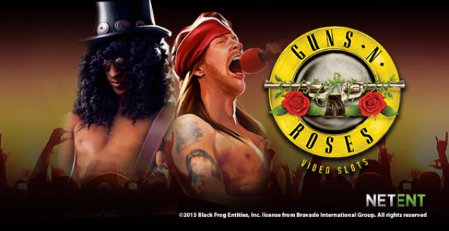 Guns N Roses slot machine game