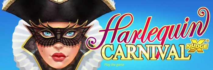 Harlequin Carnival slot game